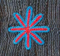 """Wodaabe symbol """"star"""""""