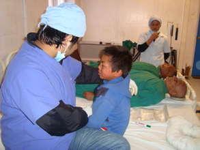 Post-operative patient