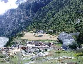 Lunana Village