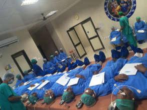 Patients awaiting cataract surgery