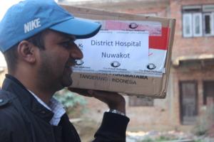 Supplies for Nuwakot
