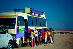 Creating Sport Champions through Mobile Bus