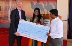 Christel House India graduates support kids.