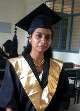 Kusuma at graduation