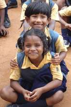 Students from Christel House India