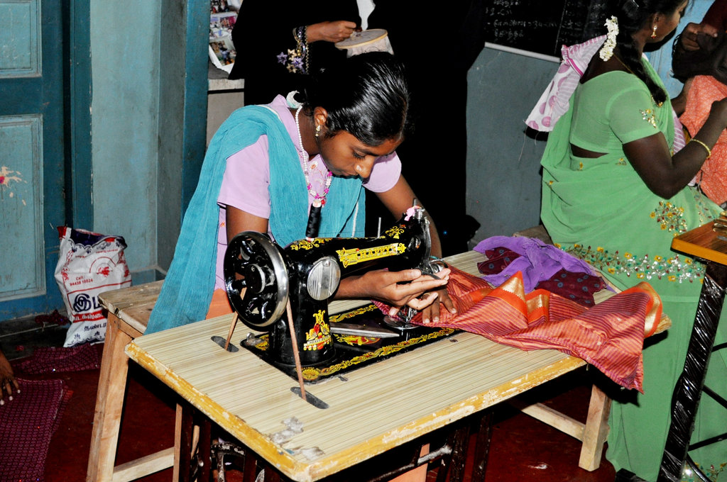 Train Women to Earn & Live. Break poverty.