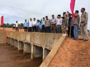 Unveiling the newly renovated reservoir!
