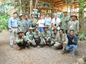 Chi Phat community rangers protect the forest