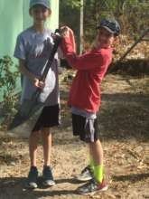 Swimming Academy Groundbreakers Ryan and Noah
