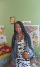 Carmen in Love to Langa classroom