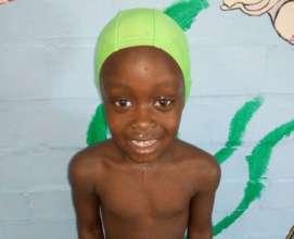 Swim student