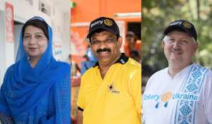 Rotary members in the fight against polio