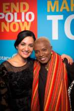 Archie Panjabi & Angelique Kidjo
