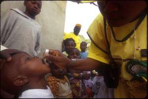 Polio immunization activities in Nigeria