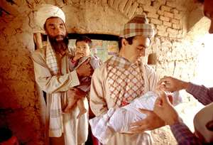 Afghanistan polio immunization activities