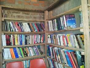The growing library