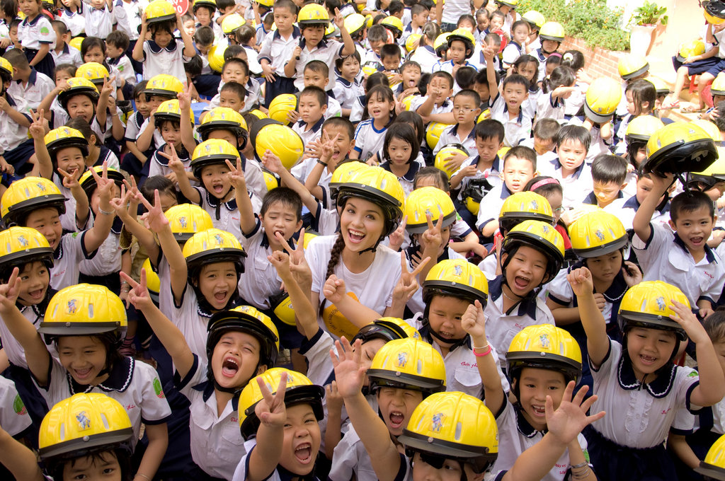 Make Child Helmets the Norm in Vietnam
