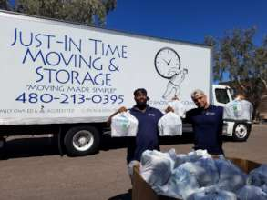 Just In Time Moving Supports Local Food Bank