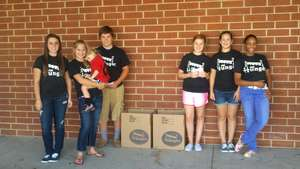 Sisters Collect 7,000 Pounds of Food