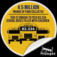 Over 4 million pounds of food delivered!