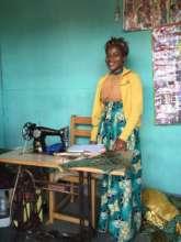 RoLeta is a seamstress in Uganda.