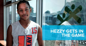 Hezzy Gets in the Game