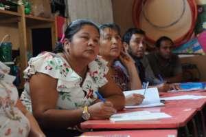 Agua Escondida faculty attend a hygiene workshop