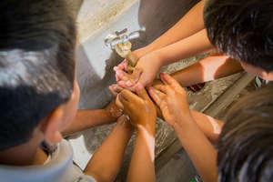 Handwashing in rural Guatemala