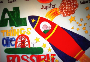 A Mural Painted by the Children