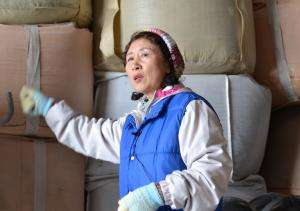 Hiroko Mirura leads 400 women who have found jobs