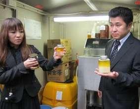 Tomihiro and Akiko Kashiwagi using business grant