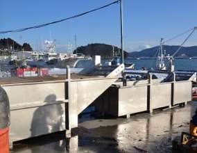 New equipment stands ready for seaweed harvest