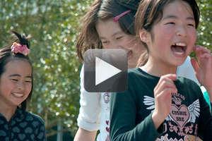 Japanese Girls at Mercy Corps' Program