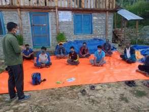 A health awareness activity, Mugu