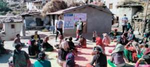 An awareness events with the mother groups