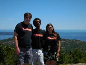 YJI students at Acadia National Park