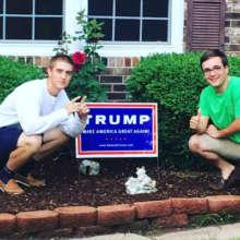 Backing Donald Trump