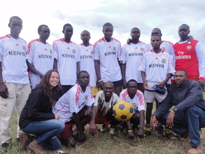 the winning boys' team