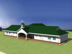Front view - future Benina Building