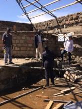 Koshin site visit with Architect & foreman