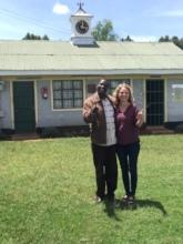 Mentor Edwin & Claire - Chepkanga school
