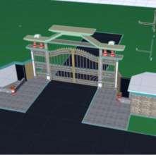School Gate design for Koshin school