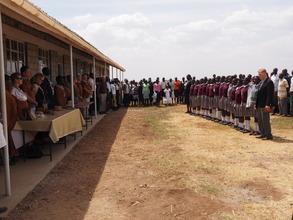 Kenya National Anthem closes the day