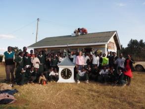 Chepkanga students & Clock tower