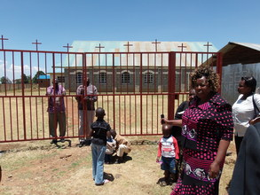 New church gates built by students
