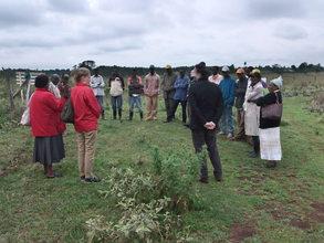 Village chief & Quantity Surveyor meeting