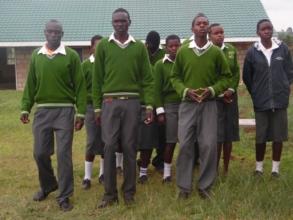 Harambee: future trainees dancing