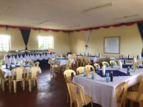 New restaurant of catering department