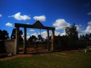 New School Gate for Sergoek school