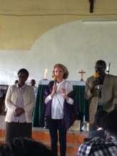 Rafiki announcements in Chepkanga church